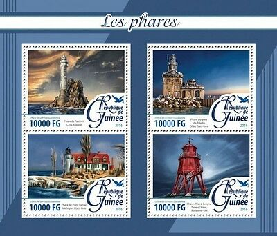 Z08 Imperforated GU16213a GUINEA 2016 Lighthouses MNH