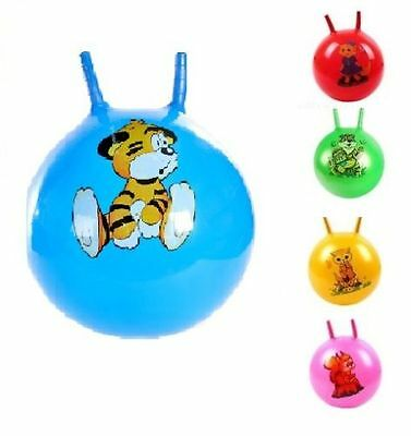"15"" Kids Jump & Bounce Space Hopper Bouncer Retro Ball Outdoor Toy"