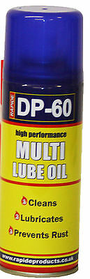 Multi-Lube Oil Spray Lubricant Cleans Rust Protection 200ml Car Bike DIY