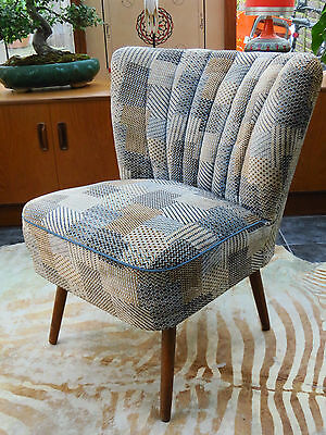 A Vintage East German Bartholomew Cocktail Chair C1965 Good Condition Jn16/14