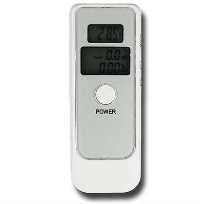 LCD Digital Alcohol Tester Breathalyser with Clock Drive Safely Breathtester