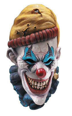 Adult Mens Insano Scary Evil Clown Mask Halloween Costume