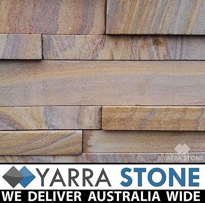 Stone Wall Cladding / Stacked Stone / Stackstone- Rainbow Sandstone -SAMPLE ONLY