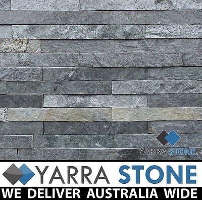 Stack Stone Wall Cladding / Stacked Stone / Natural Stone-Silver Gray-SAMPLE
