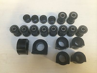 Triumph GT6 Front Bush set in Black Duraflex Polyurethane