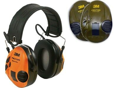 Peltor Ear Defenders SportTac Electronic Shooting Hearing Protection 3M