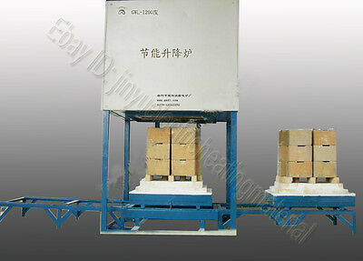 1600 Sintering Resistance Elevator Bottom Loading Ceramic Furnace Hydraulic lift