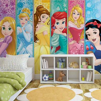 WALL MURAL PHOTO WALLPAPER XXL Disney Princesses Aurora Belle Ariel (3428WS)