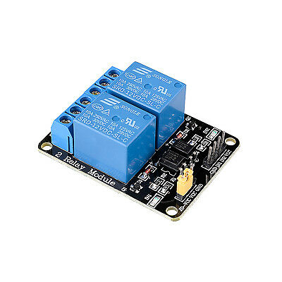 12V 2-Channel 10A Relay Board Module For Arduino Raspberry Pi ARM AVR PIC DSP
