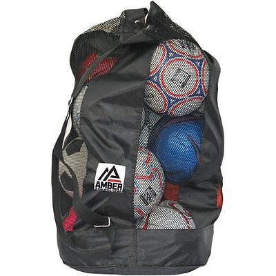 Amber Athletic Gear Football Carrying Bag (10 Balls) - EUSOBC