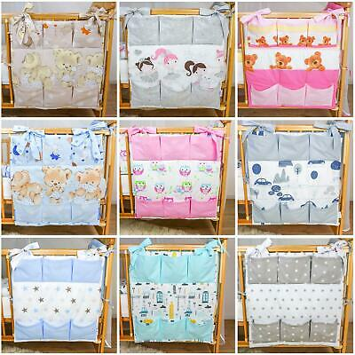 Nursery Baby Cot Tidy / Organiser for Cot/ Cotbed/ Cot Bed