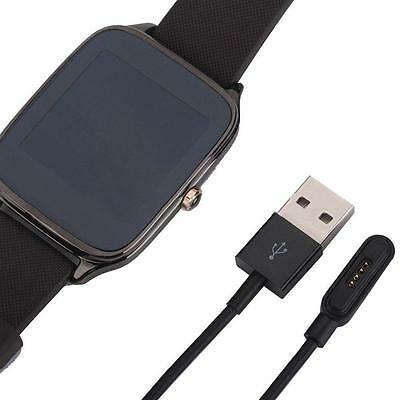 USB Adapter Charger Cord Charge Charging Cable For ASUS ZenWatch 2 Smart Watch