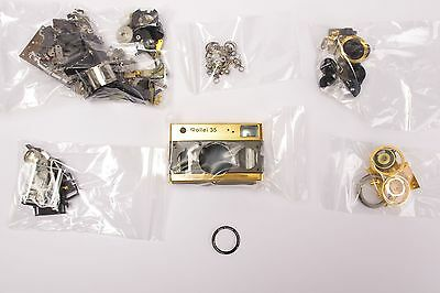 Rollei 35 Classic GOLD Jubileum 75 Jahre set of spare parts #3 - check pictures