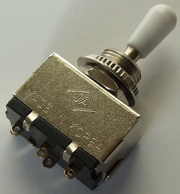 Les Paul switch for Gibson / Epiphone type guitar ~ Quality Korean 3-way toggle