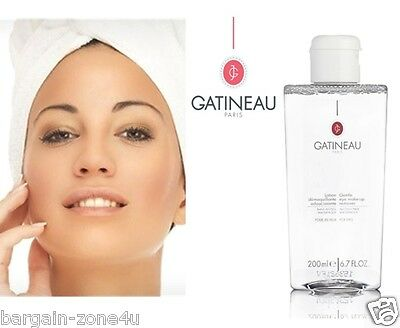 Gatineau Paris Lotion Eye Make Up Remover Cleanser Beauty Facial 200ml