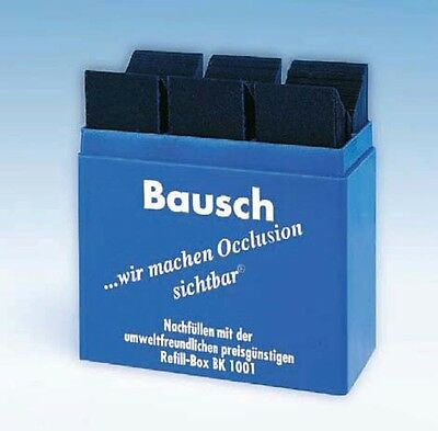 Dental Bausch Articulating Paper Blue Color 300 Strips - BK 01 - 4 Packs !
