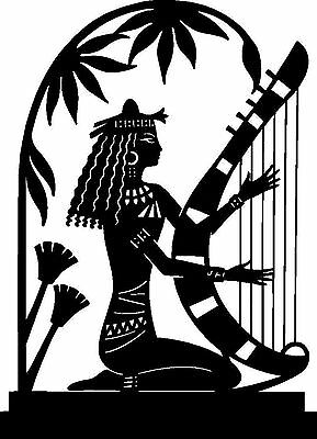 Silhouette Cross Stitch Chart - Egyptian