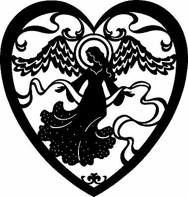 Silhouette Cross Stitch Chart - Angel