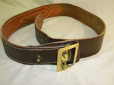 Jay-Pee Law Enforcement / Police  BROWN Leather Belt size 40