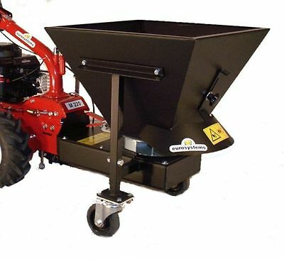 Eurosystems Mounting plate spreader, Grit spreader for M 210 and 220, 60 Litres