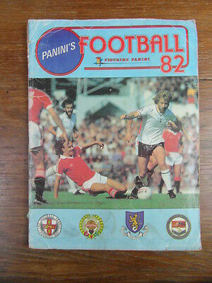 (MC) ALBUM PANINI STICKERS FOOTBALL 82 1982 UK ENGLAND Manque/missing 2 stickers
