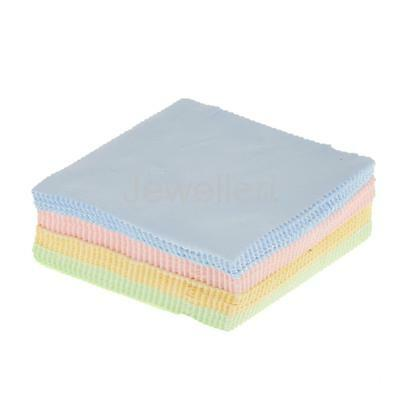 100 Large Microfibre Glasses Camera Lens Spectacle Microfiber Cleaning Cloth