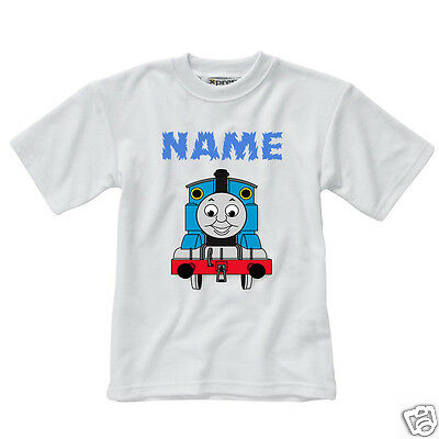Personalised Children's T-Shirt - Thomas The Tank Engine