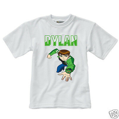Personalised Children's T-Shirt - Ben 10 - Style 2