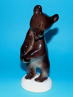 RUSSIAN Ussr russia ornament  figurine wildlife 'Brown Bear'    1st Quality