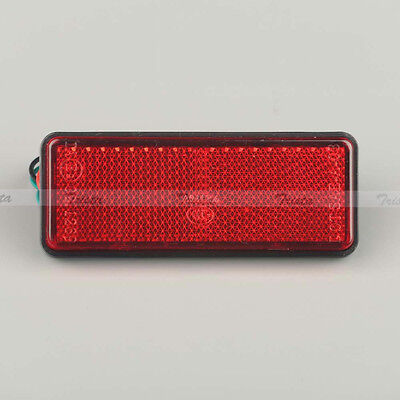 1PC Red LED Reflector Tail Brake Stop Marker Light Truck Trailer Motorcycle #Y5