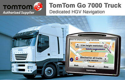 Tomtom GO520 Truck, Bus,van  Coverage of 45 Europe countries  Sat Nav  IQ routes