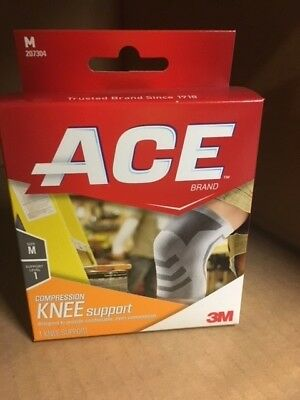 Ace Knitted Knee Mild Support, Medium, 1ct 051131198173A536