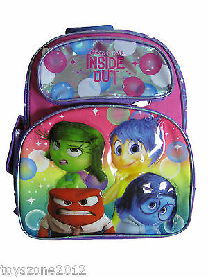 New Disney Inside Out Small Backpack Ruz A05881