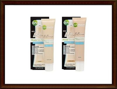GARNIER BB Cream Miracle Skin Perfector SPF20,40ml for Combination to Oily Skin