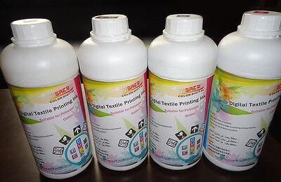 Dye Sublimation ink 4 liters CMYK for printers epson head mimaki mutoh 900 901