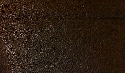 Dark Brown Leather Offcut 55cm x 20cm Strip Remnant Craft Furniture Repair Patch