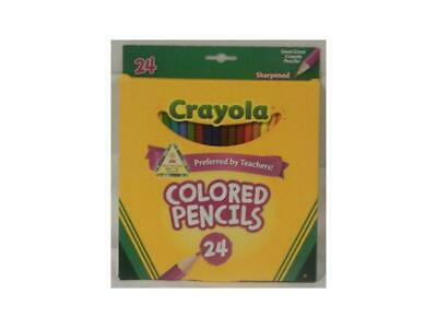 Crayola - Coloured Pencils - 24 Pack