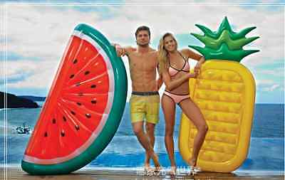 2016 Lovely Fruit Swimming Pool Inflatable Floating Swimming  Floating Slab
