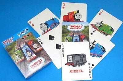 Friends playing cards poker size and Thomas the Tank Engine