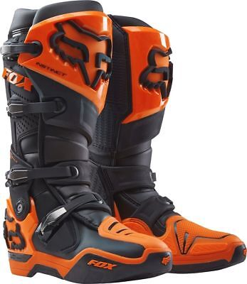 Fox Racing 2017 Mx NEW Instinct Black Orange Motocross Boots