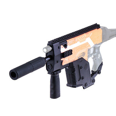 Worker MOD Kriss Vector Picatinny Rail Mount Combo 9 Items for Nerf STRYFE Toy