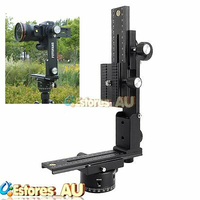 【AU】Fotomate Panorama Tripod Ball Head 360° Gimbal Bracket For Camera DSLR