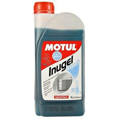 Motul Mx Inugel Expert Motocross Dirt Bike Motorbike 1L Pre-Mixed Engine Coolant