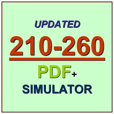 Implementing Cisco Network Security CCNA IINS Test 210-260 Exam QA PDF+Simulator