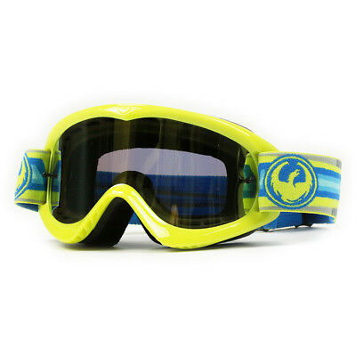 Dragon NEW Mx MDX Surge Smoke Gold Ionized Lens Motocross Dirt Bike Ion Goggles