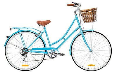 NEW DUTCH DELUXE LADIES VINTAGE BIKE RETRO CRUISER 7Speed Shimano