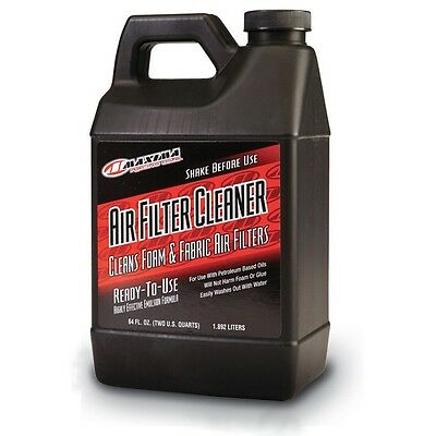 Maxima NEW Mx 1.89L Motocross Dirt Bike Motorcycle 64 oz Air Filter Cleaner