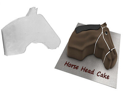 Horse Face Shape Birthday Wedding Anniversary Cake Tin