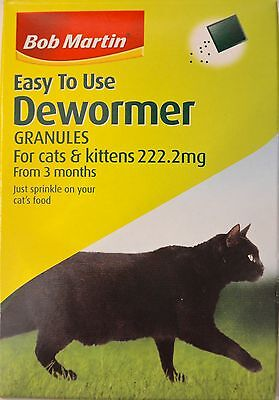 Bob Martin Easy to Use Dewormer Granules for Cats and Kittens!