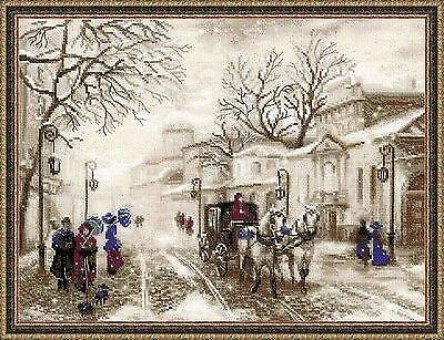 Counted Cross Stitch Kit Riolis - Old Street